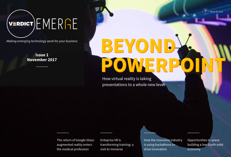 Home | Beyond Powerpoint - Verdict Emerge | Issue 1